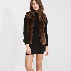 LOFT fur vest 👄